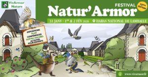 Lamballe (22), Festival Natur'Armor 2020 @ Haras national de Lamballe - Syndicat Mixte