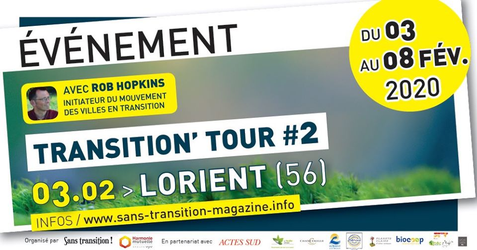 Lorient (56), Transition' Tour #2 – Rob Hopkins