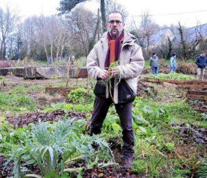 Brest (29), Légumes perpétuels du jardin @ Le Jardin partagé de Kérampéré