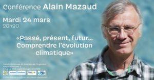 Lorient (56), L'évolution du climat - conférence de Alain Mazaud @ Faculté Sciences et Sciences de l'Ingénieur