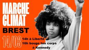 Brest (29), Marche pour le climat @ Place de la Liberté