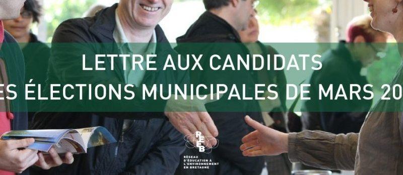 Le REEB interpelle les candidats aux municipales