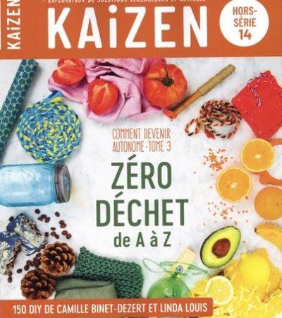 Le zéro déchet de A à Z grâce au hors-série de Kaizen