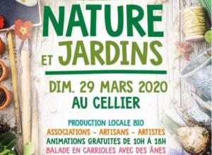 Le Cellier (44) - Fête des plantes bio @ Bourg du Cellier 44850