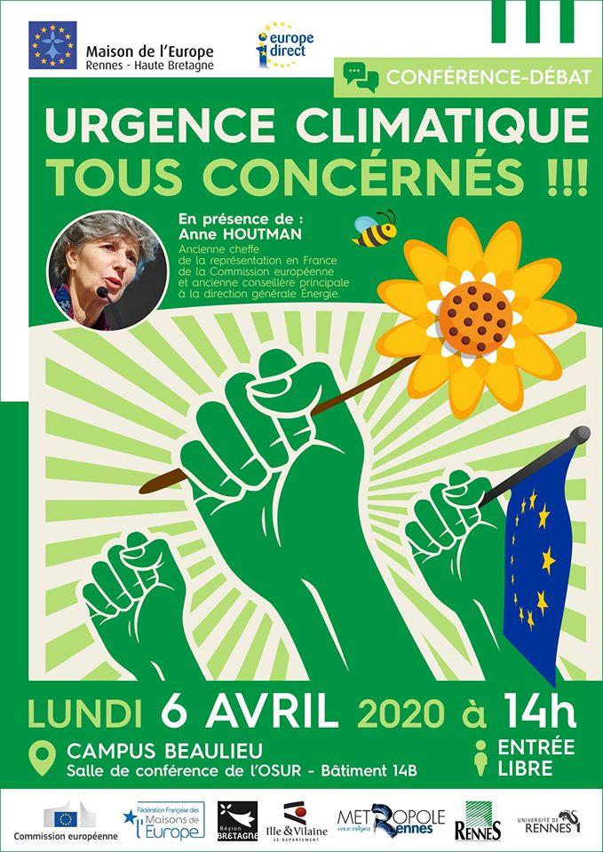Rennes (35) – Urgence climatique : tous concernés !