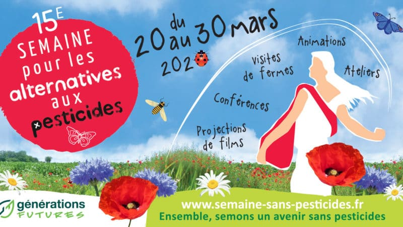 La Semaine pour les alternatives aux pesticides depuis chez soi!