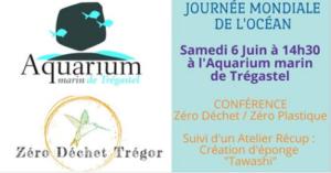 Trégastel (22) - Journée mondiale de l'Océan @ Aquarium marin de Trégastel