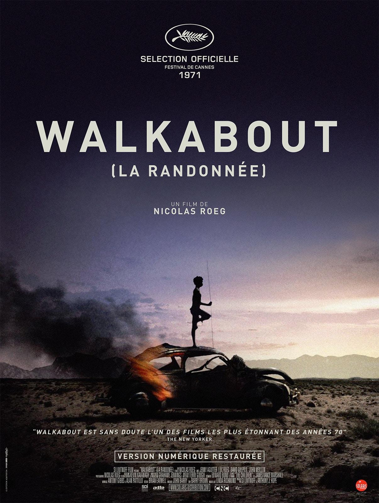 Cinéma – Walkabout : mûrir en milieu aride.