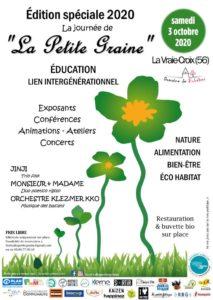 La Vraie-Croix (56), Festival La Petite Graine @ Domaine de Bobéhec