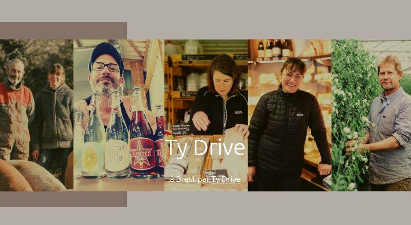 Ty Drive, un drive de produits locaux à Brest