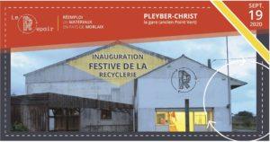 Pleyber-Christ (29), Inauguration festive du Repair @ La gare