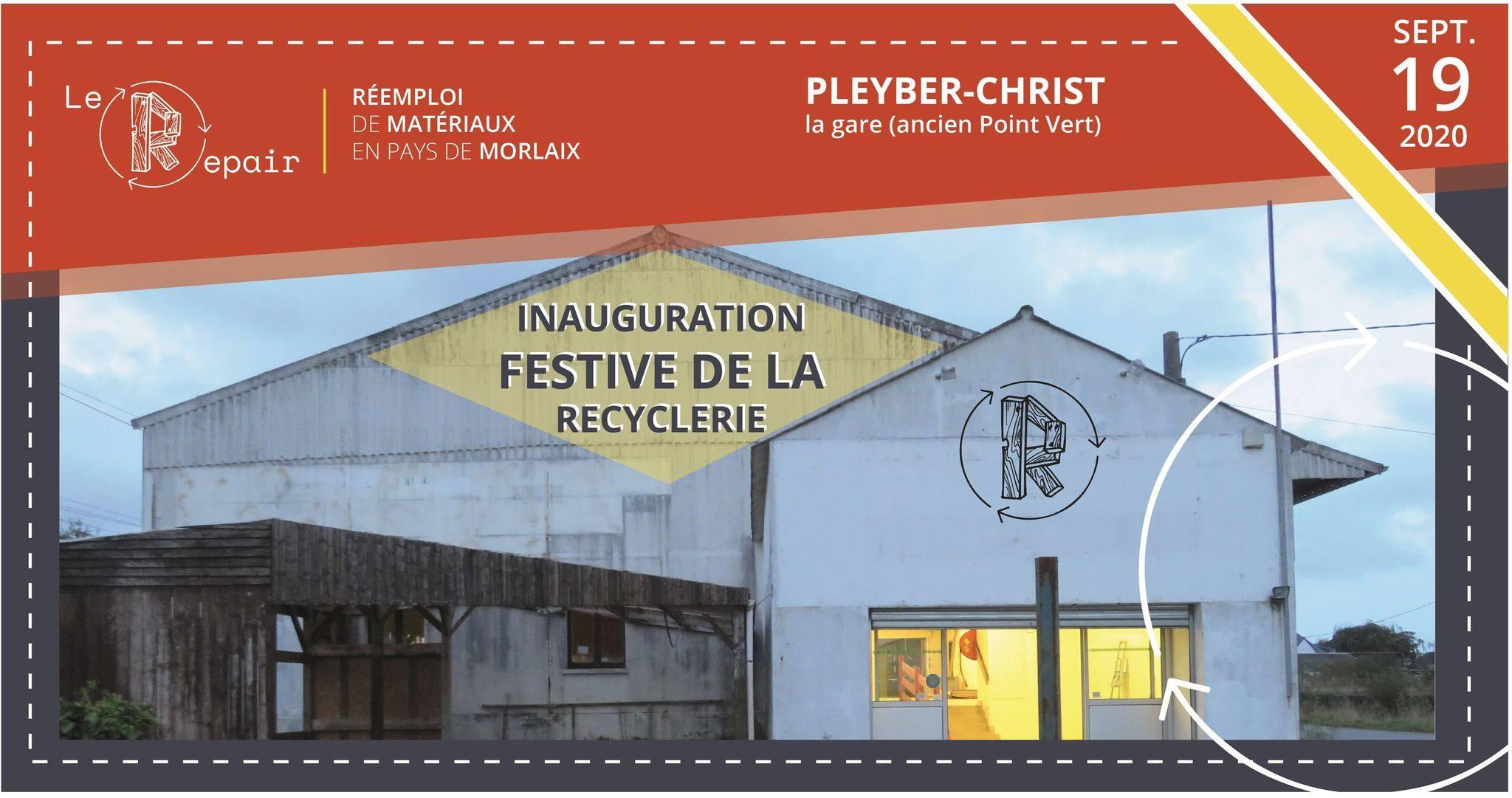 Pleyber-Christ (29), Inauguration festive du Repair