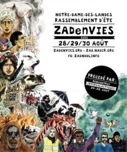 Notre-Dame-des-Landes (44), Rassemblement d'été Zad En Vies @ ZAD NDDL