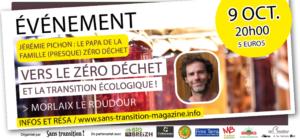 St-Martin des Champs (29), Zéro déchet Conférence avec Jérémie PICHON @ Espace du Roudour