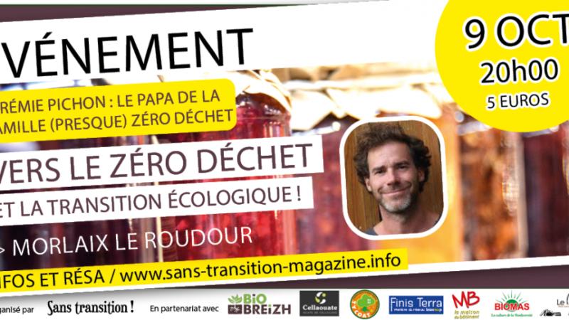 St-Martin des Champs (29), Zéro déchet Conférence avec Jérémie PICHON