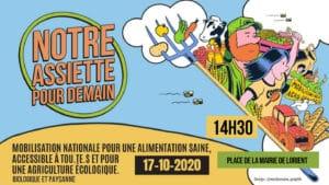 Lorient (56), Notre assiette pour demain @ Place de la Mairie