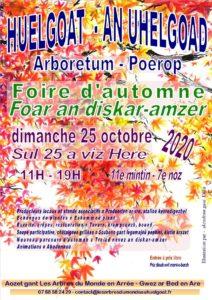 Huelgoat (29), foire d'automne Les Arbres du Monde au Huelgoat @ Les Arbres du Monde au Huelgoat