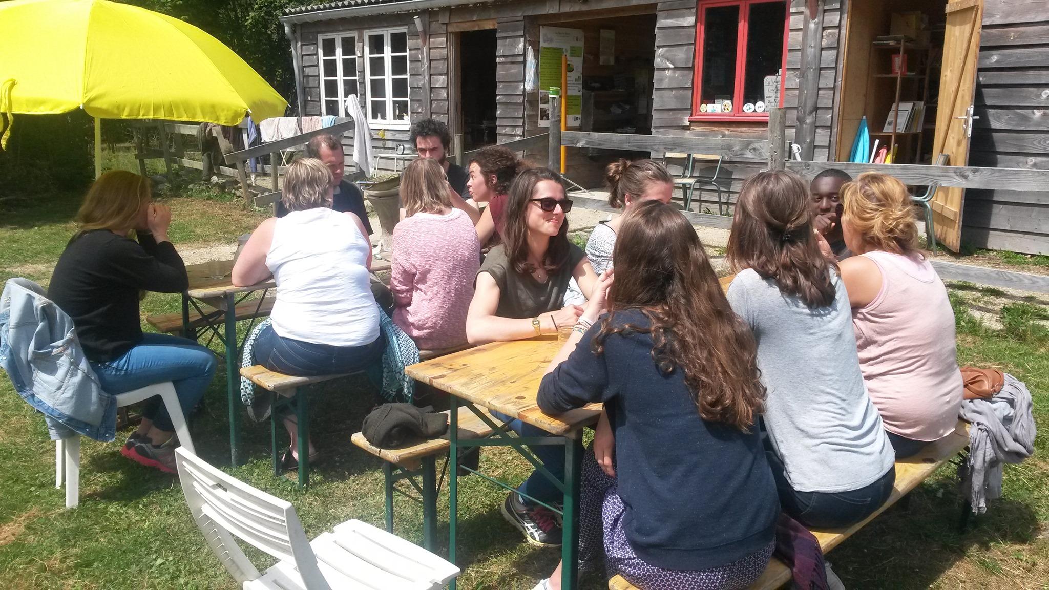 Mellionnec (22), Initiation à la permaculture au Bois du Barde