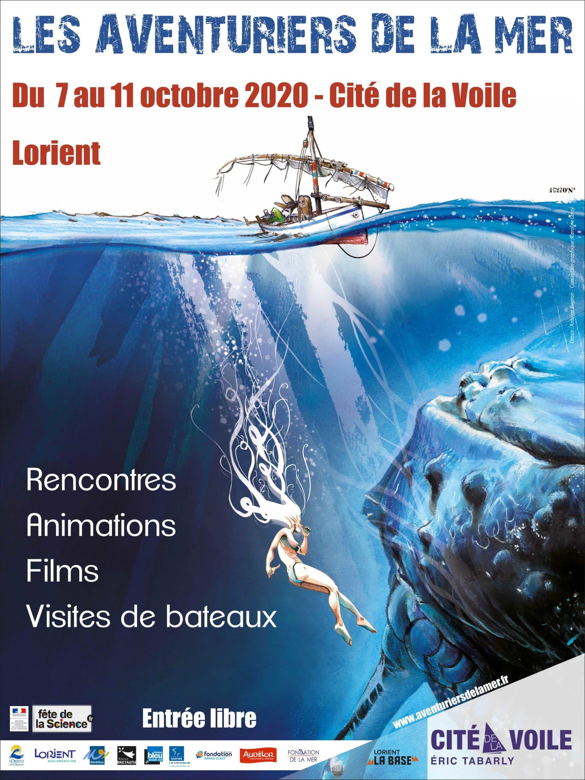 Le Festival des Aventuriers de la Mer largue les amarres à Lorient