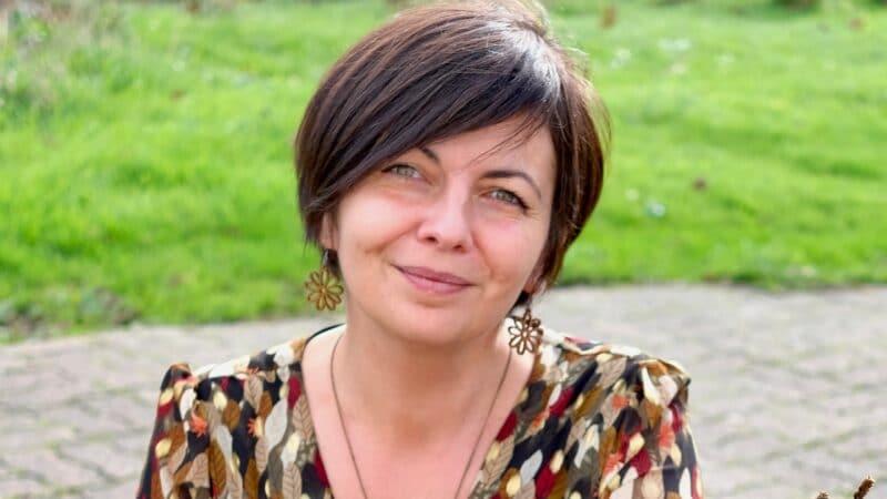 Portrait de femme n°6. Laëtitia Crnkovic, semeuse de transition joyeuse