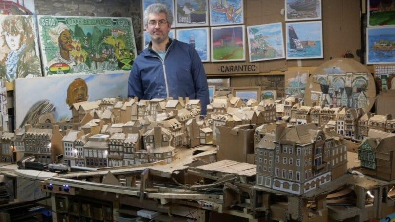 «J'essaye de recycler un maximum», portrait de Charles Vergnolle, un artiste morlaisien dans l'air du temps