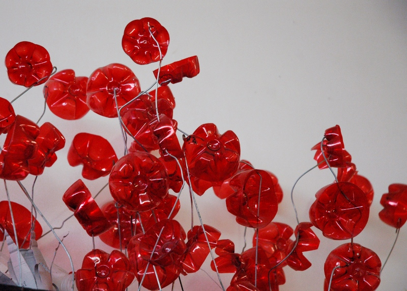 St-Valentin : fabriquez-lui des fleurs recyclées !
