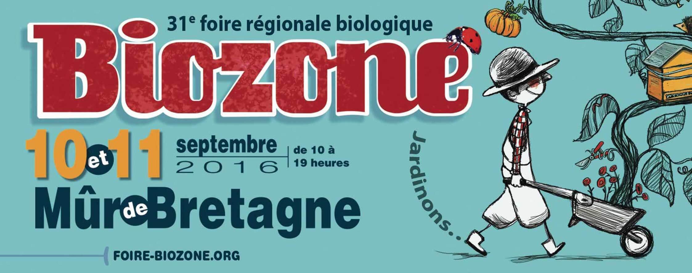 L'idée sortie. Rendez-vous à Biozone ce week-end !