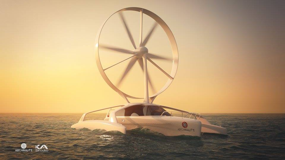 L'Archinaute, le bateau qui avance contre vents et marées