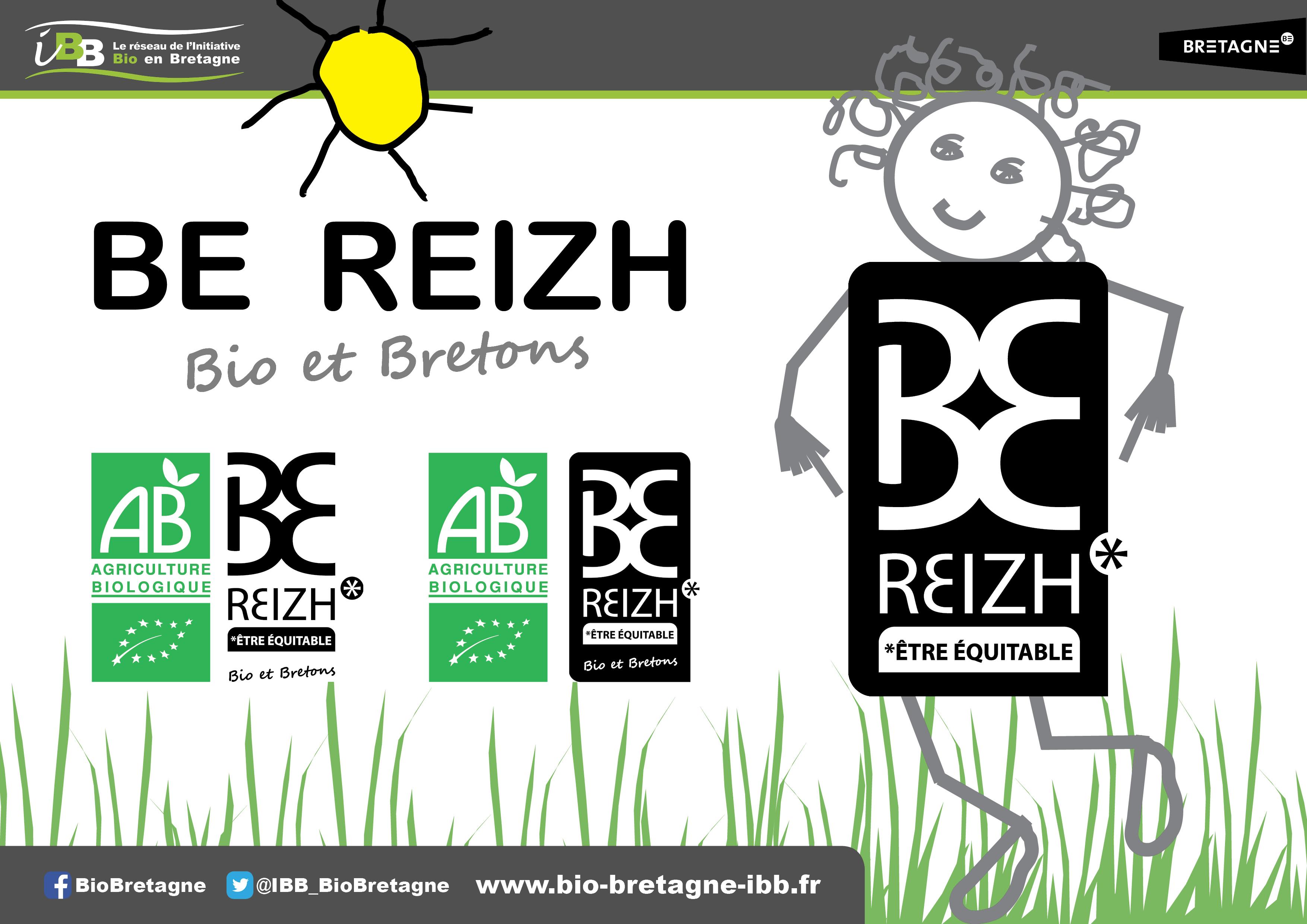 Be Reizh, la marque des produits Bio et bretons !