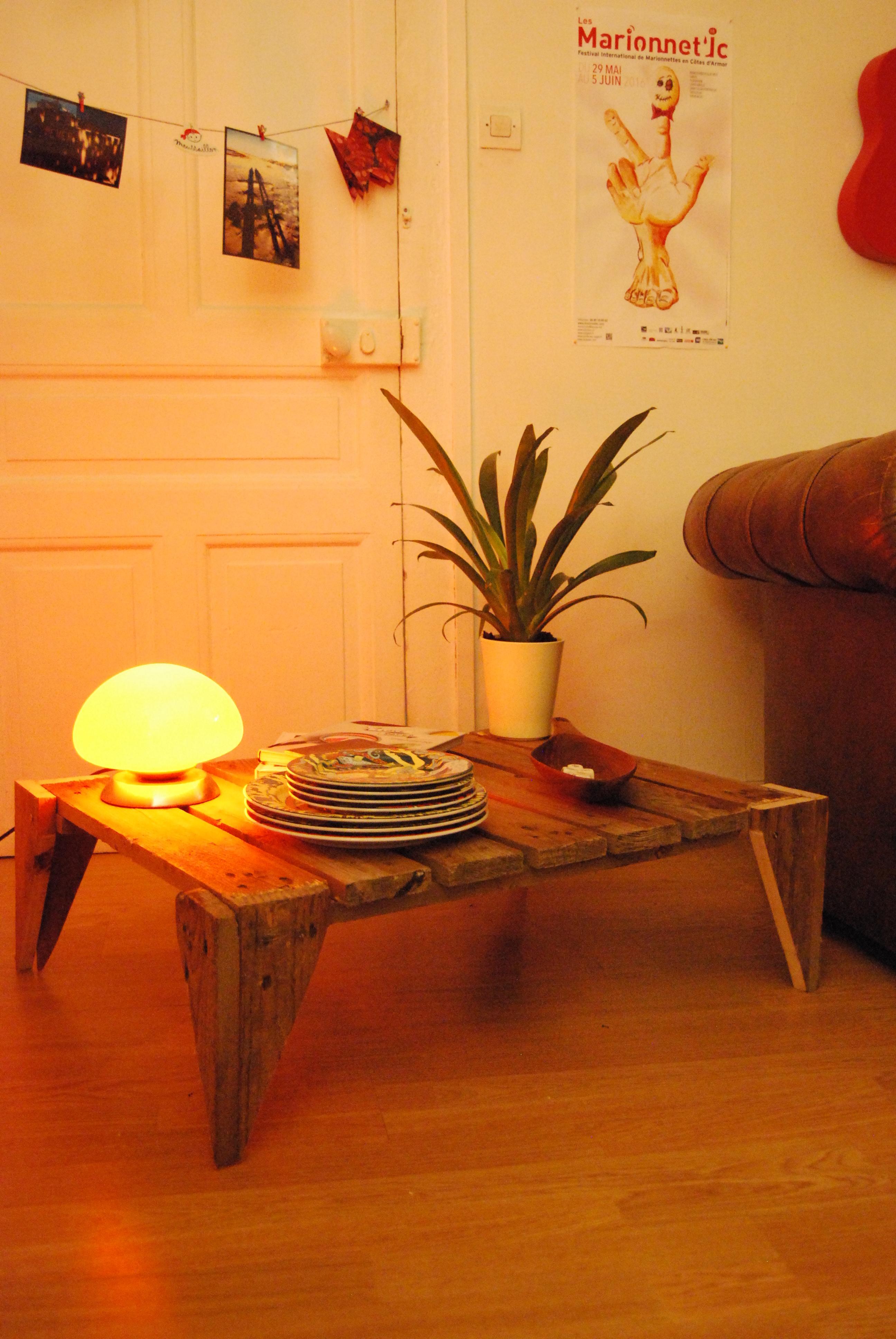 DIY : Une table basse sans prétention