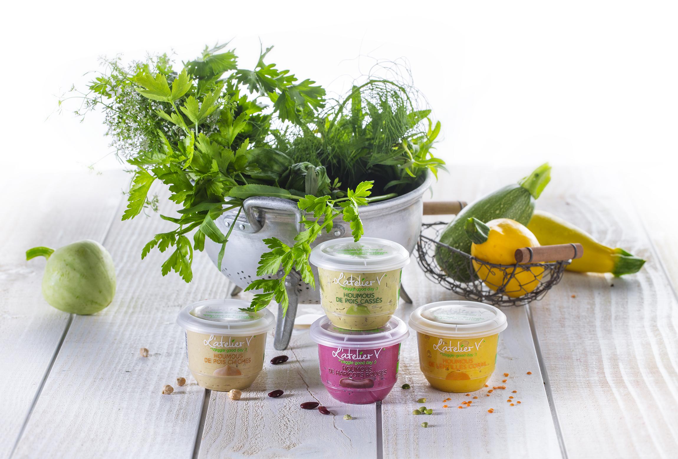 L'Atelier V*, des recettes végétariennes et bios