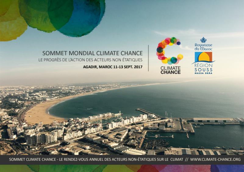 Climate Chance 2017 Agadir: une chance pour la planète