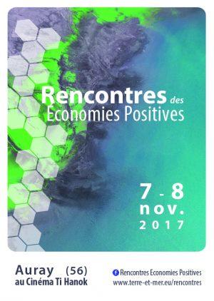 « Devenons les acteurs de l'économie dont nous rêvons », les 7 et 8 novembre à Auray (56)