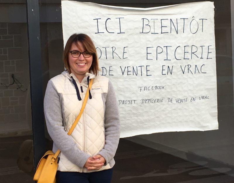A Loudéac, Amélie va ouvrir son épicerie de vente en vrac