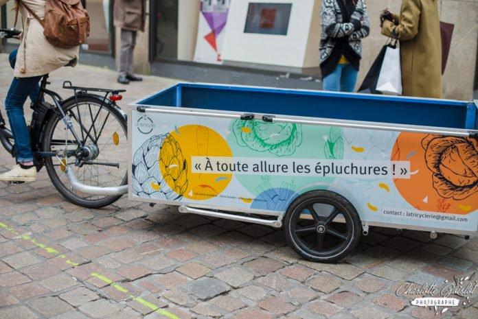 À Nantes, la Tricyclerie récupère les biodéchets des restaurants et épicerie pour en faire du compost