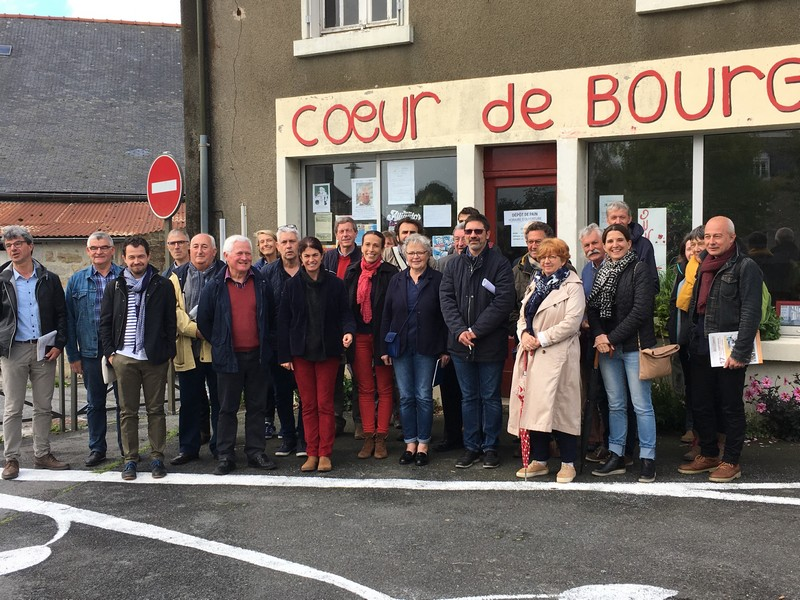 Laurenan (22) revitalise son centre-bourg avec ses habitants