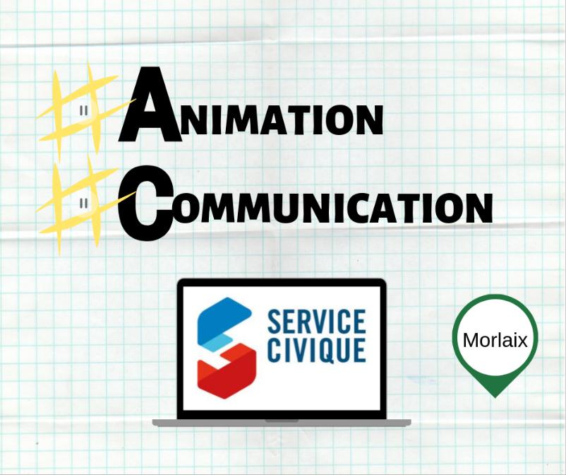 Mission de Service Civique: Soutien sur la communication et sur l'organisation et animation d'événements.