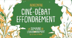 Rennes (35) - Ciné-Débat Effondrement @ Université Rennes 2 Rennes 35000