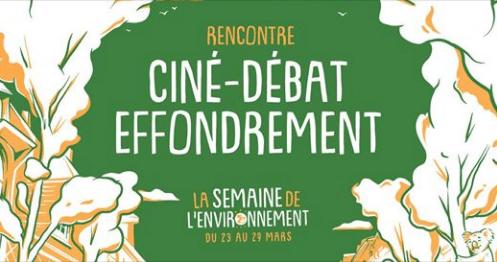 Rennes (35) – Ciné-Débat Effondrement