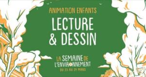 Rennes (35) - Animation Lecture & Dessin @ Maison Bleue
