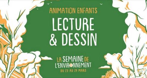 Rennes (35) – Animation Lecture & Dessin