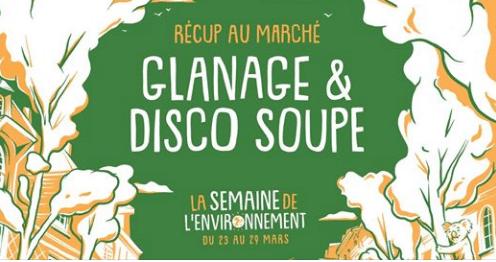 Rennes (35) – Glanage & Disco-soupe au marché
