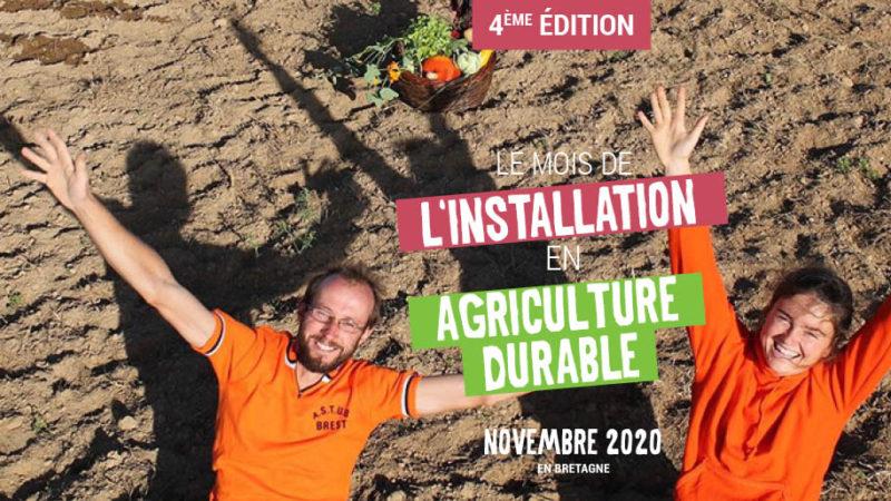Novembre, mois de l'installation en agriculture durable en Bretagne