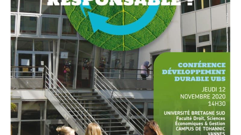 Vannes/Bretagne, Développement Durable, votre campus est-il responsable ?