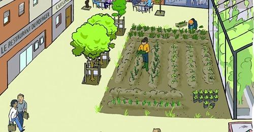 Quimperlé : Découvrez en ligne le projet Ty pouce pour une micro-ferme urbaine et un café-restaurant solidaires