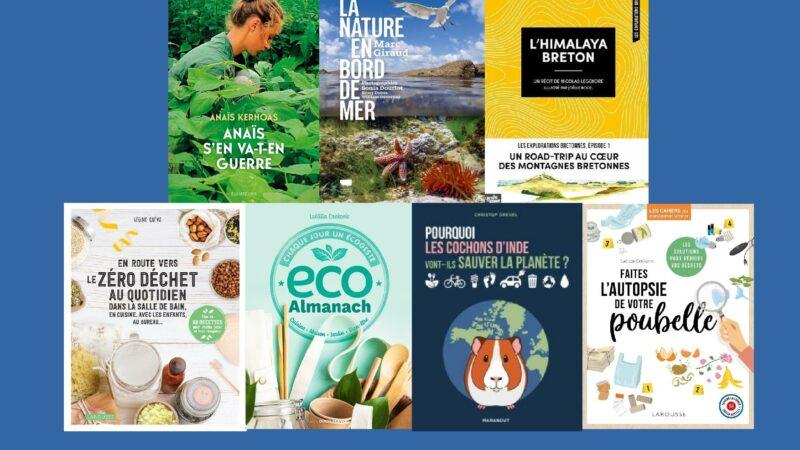 Notre sélection éco-bretonne de livres à glisser sous votre sapin écolo