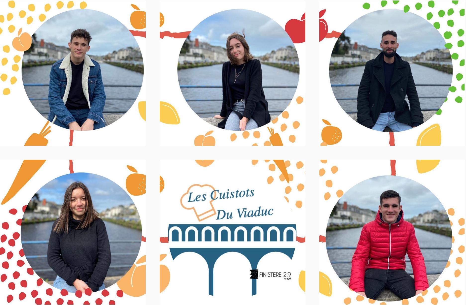 Les Cuistots du Viaduc: le projet solidaire des étudiants de Morlaix pour lutter contre la précarité alimentaire