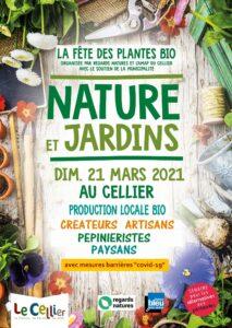 Le Cellier (44), Nature et jardin 2021 - Fête des plantes bio