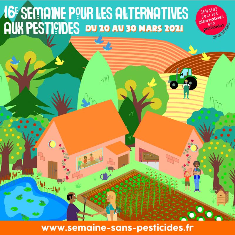 Les alternatives aux pesticides, c'est par ici!