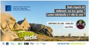 Visio-conférence climat : Quels impacts ont réellement les écogestes ?